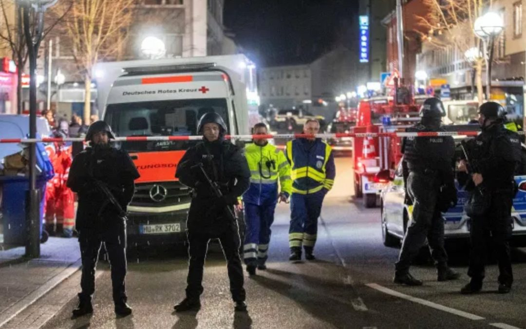 10 killed and 6 injured, Hanau German